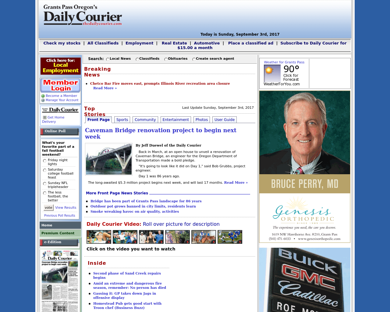 Grant-Pass-Oregon's-(The-Daily-Courier)-Advertising-Reviews-Pricing