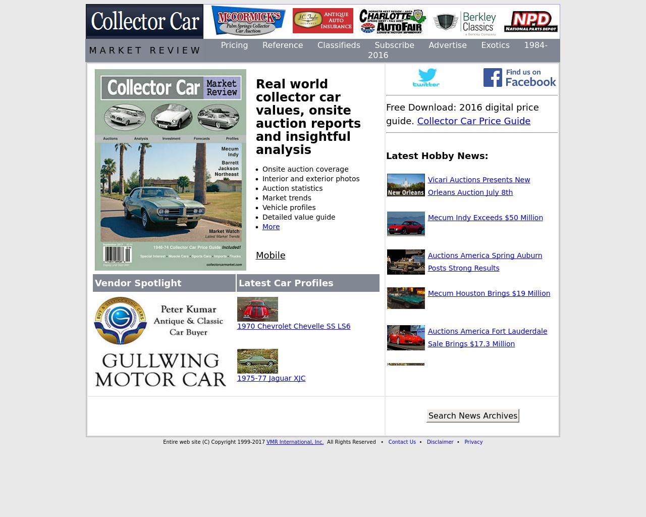 Collector-Car-Market-Advertising-Reviews-Pricing