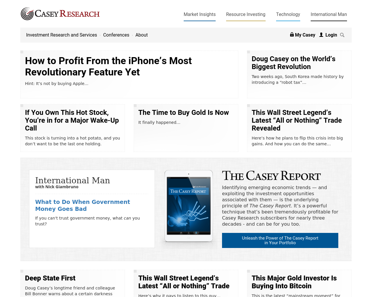 Casey-Research-Advertising-Reviews-Pricing