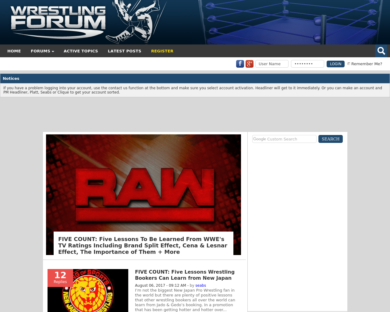 Wrestling-Forum-Advertising-Reviews-Pricing