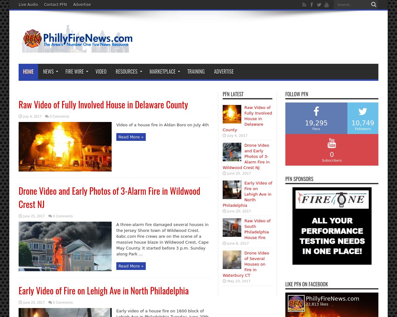 PhillyFireNews.com-Advertising-Reviews-Pricing