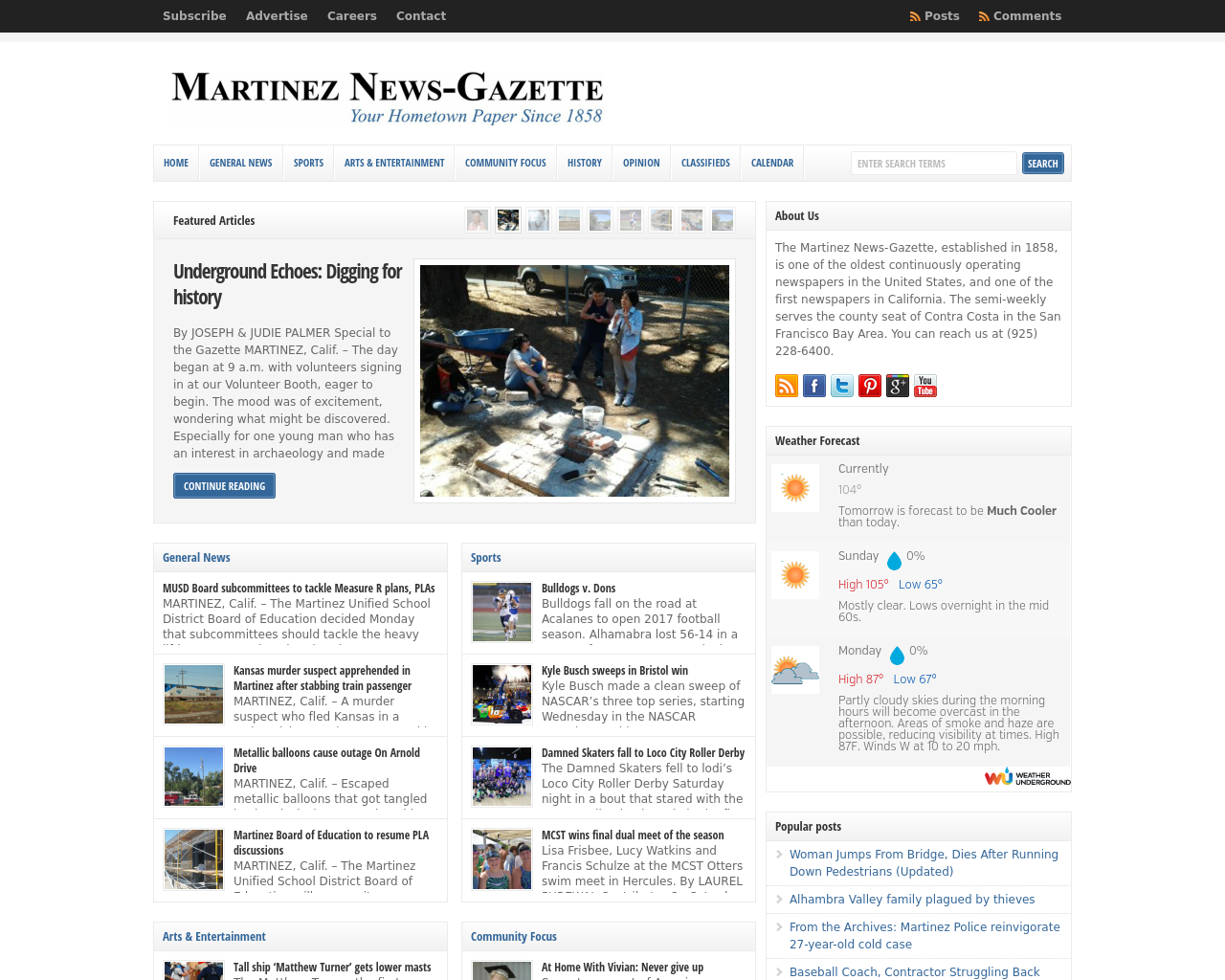 Martinez-News-Gazette-Advertising-Reviews-Pricing