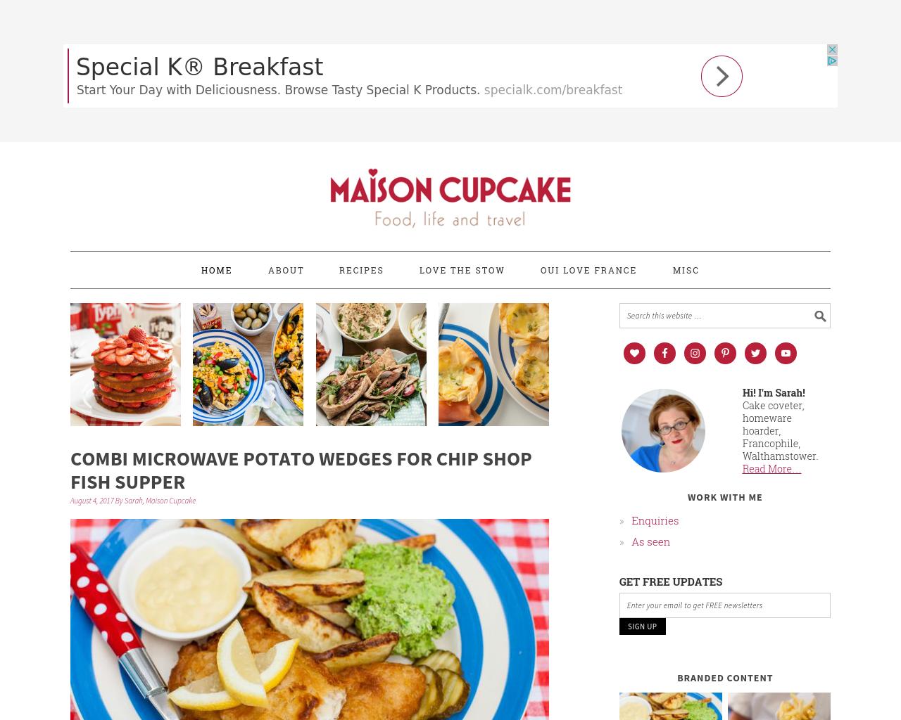 Maisoncupcake.com-Advertising-Reviews-Pricing