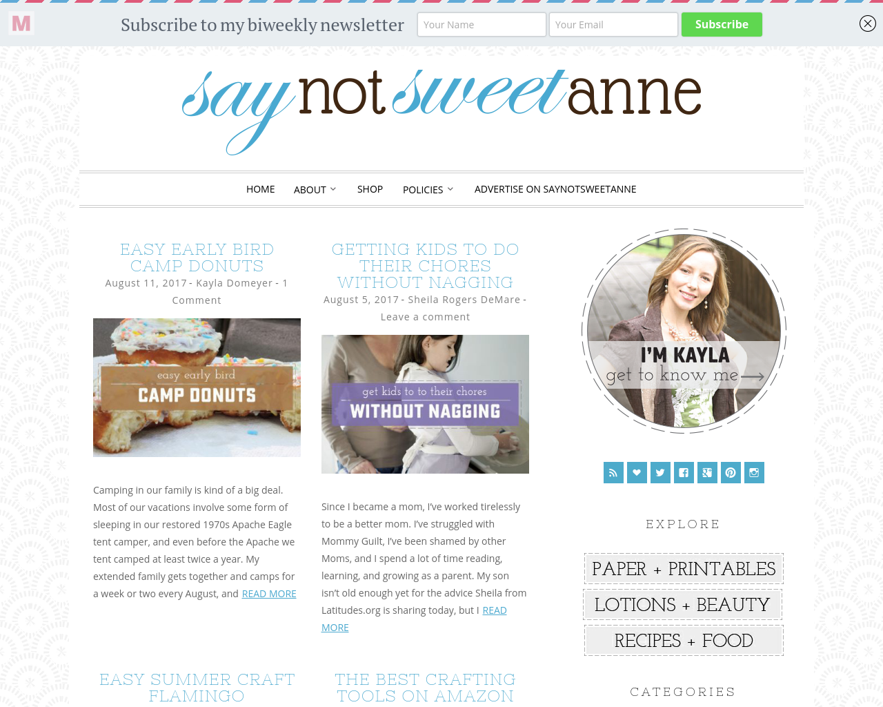 SAYNOTSWEETANNE-Advertising-Reviews-Pricing