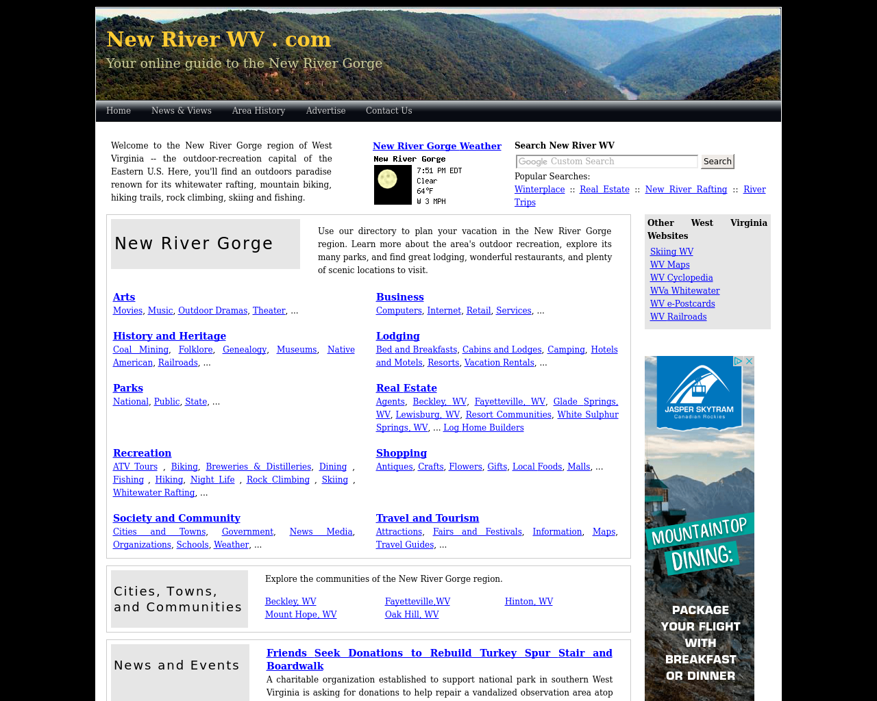 newriverwv.com-Advertising-Reviews-Pricing