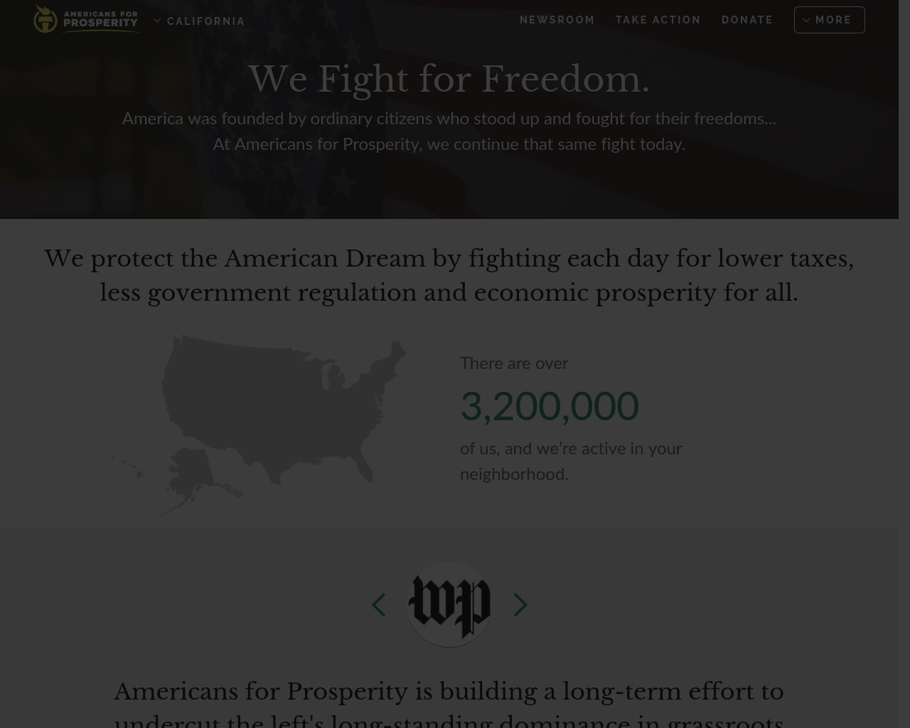 Americans-For-Prosperity-Advertising-Reviews-Pricing