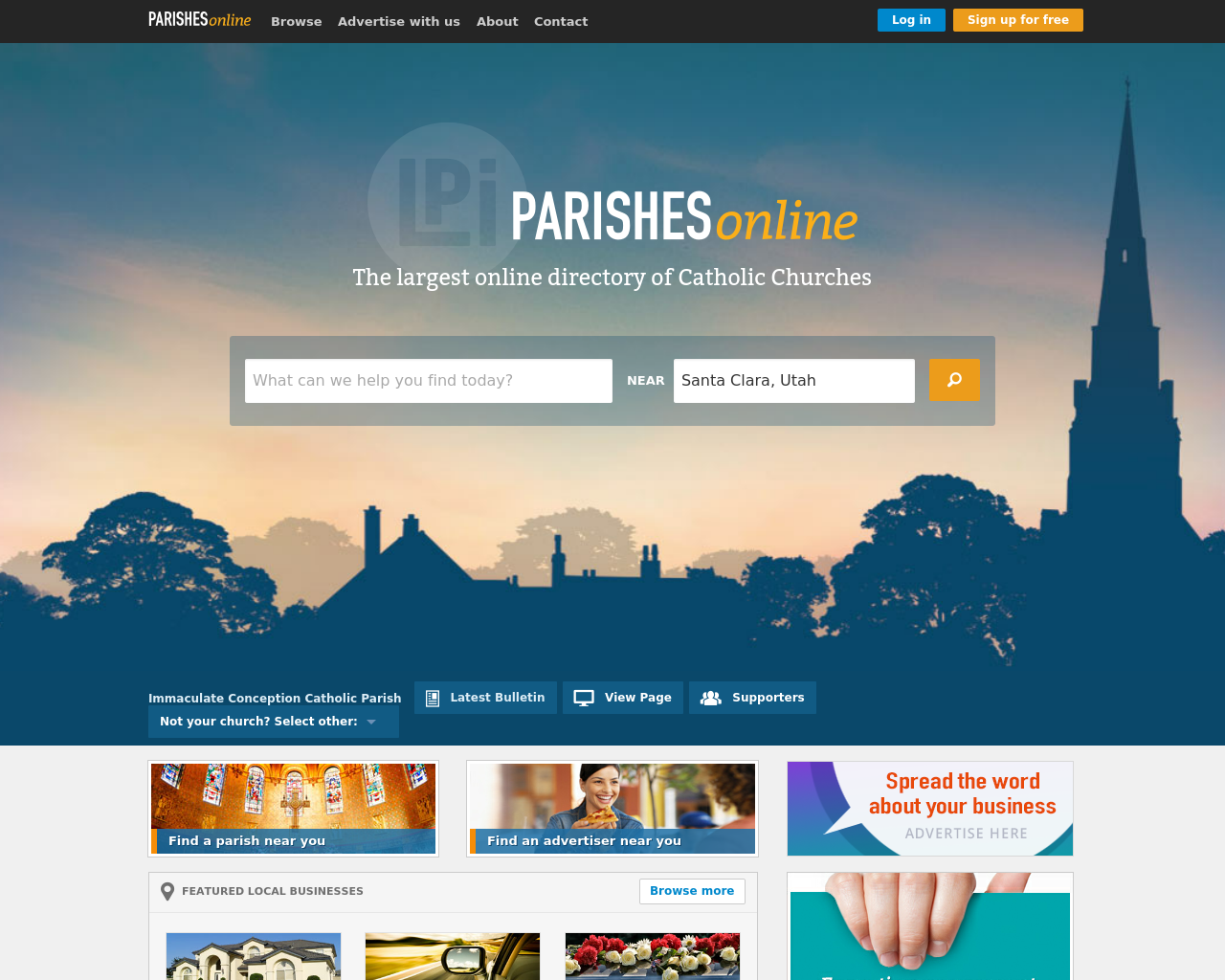 Parishes-Online-Advertising-Reviews-Pricing