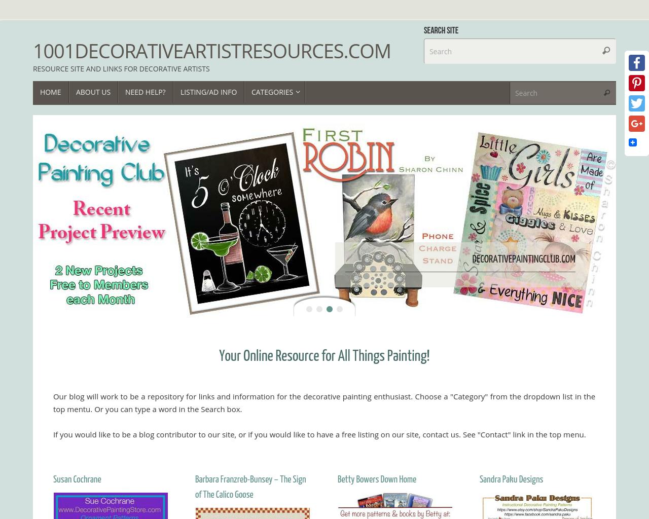 1001-DecorativeArtistResources.com-Advertising-Reviews-Pricing