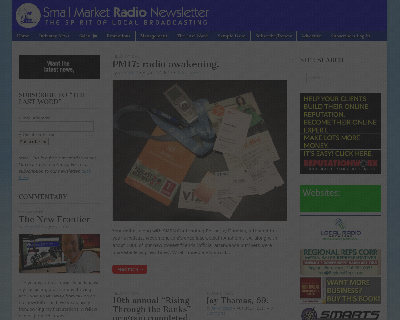 Small-Market-Radio-Newsletter-Advertising-Reviews-Pricing