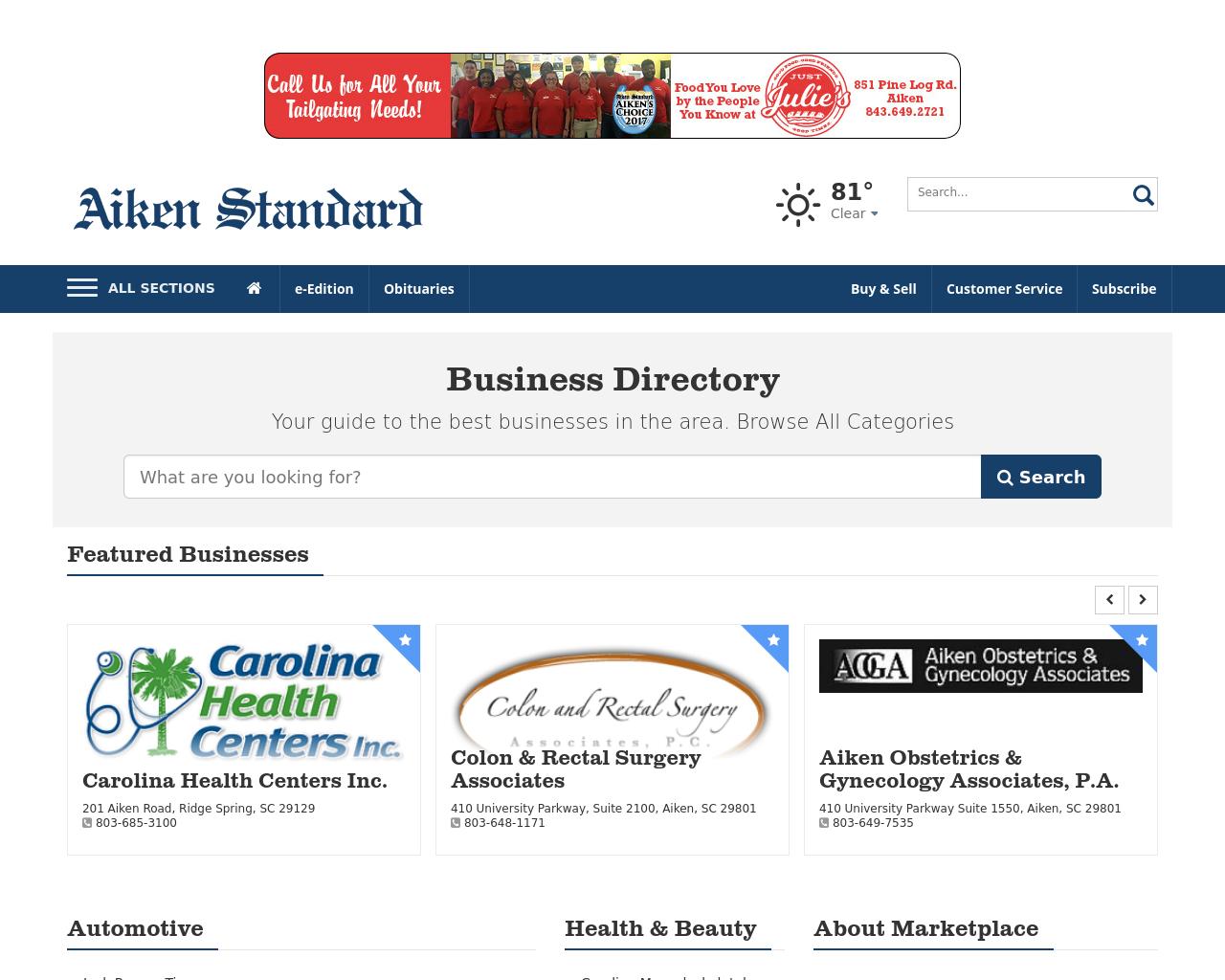 Aiken-Savvy-Shopper-Advertising-Reviews-Pricing
