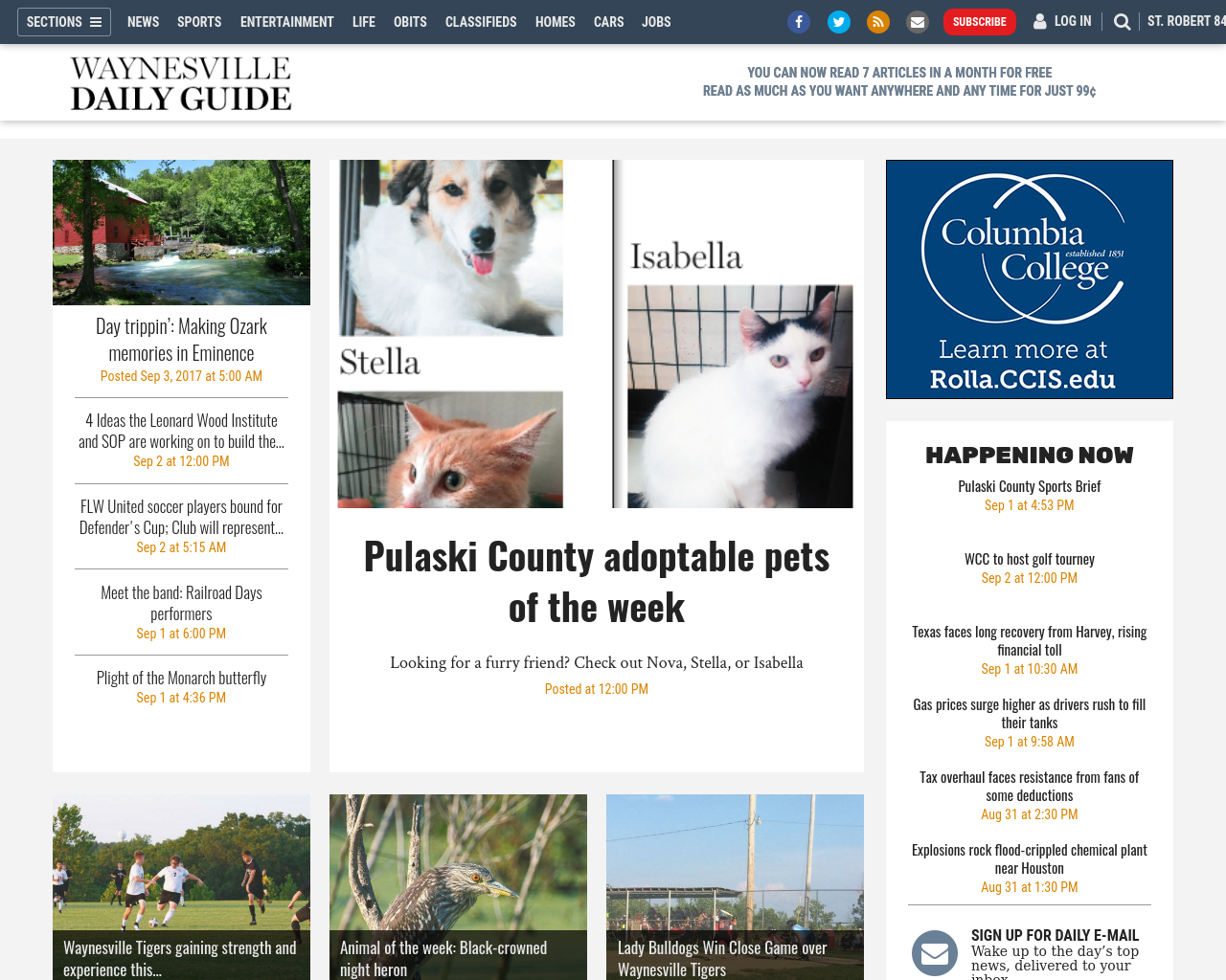 Waynesville-Daily-Guide-Advertising-Reviews-Pricing