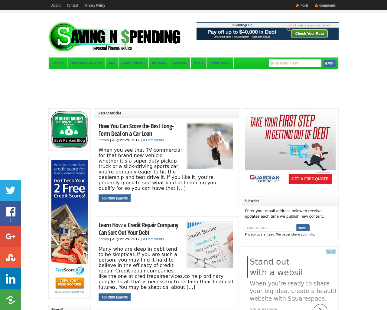 Saving-N-Spending-Advertising-Reviews-Pricing