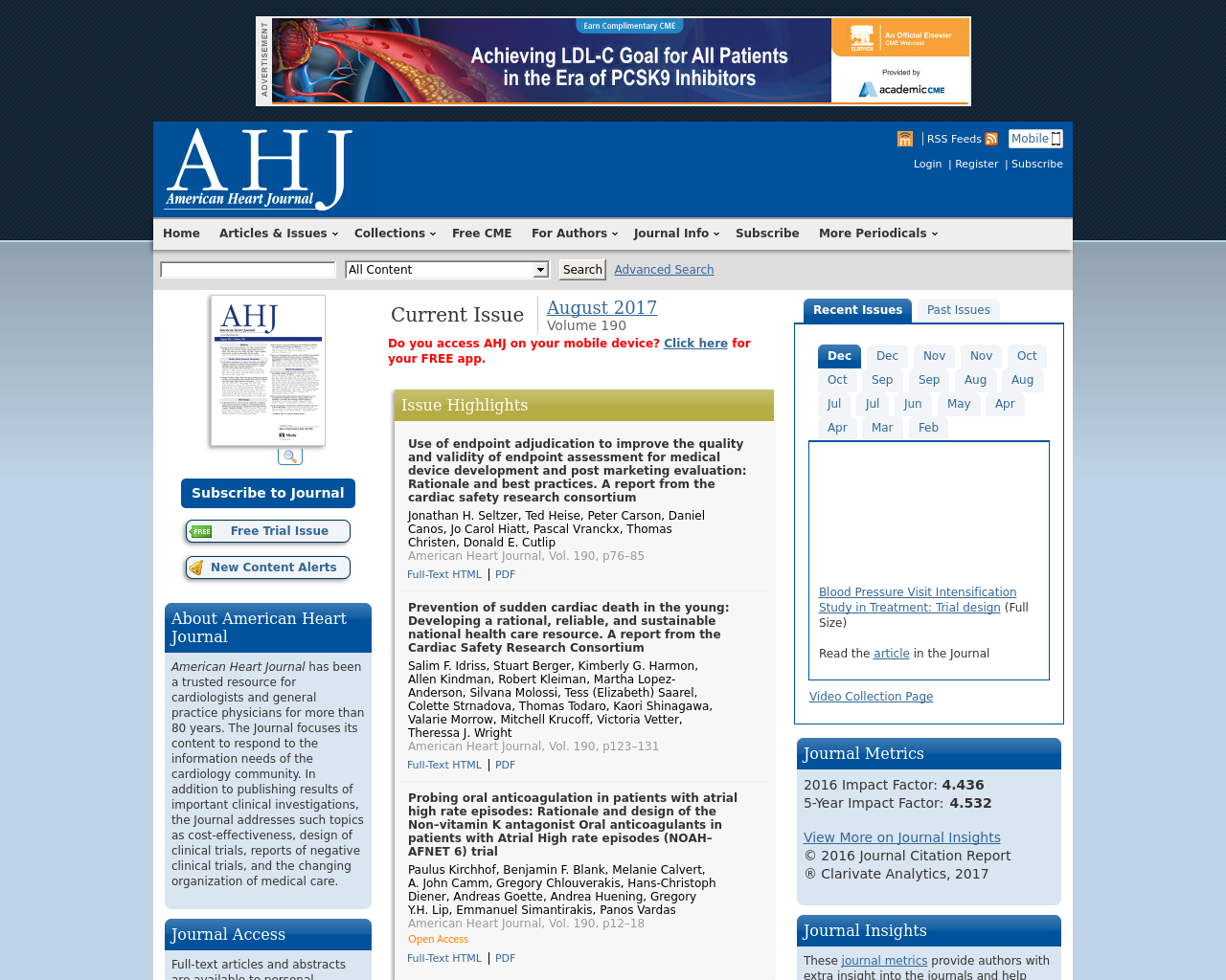 American-Heart-Journal-Advertising-Reviews-Pricing