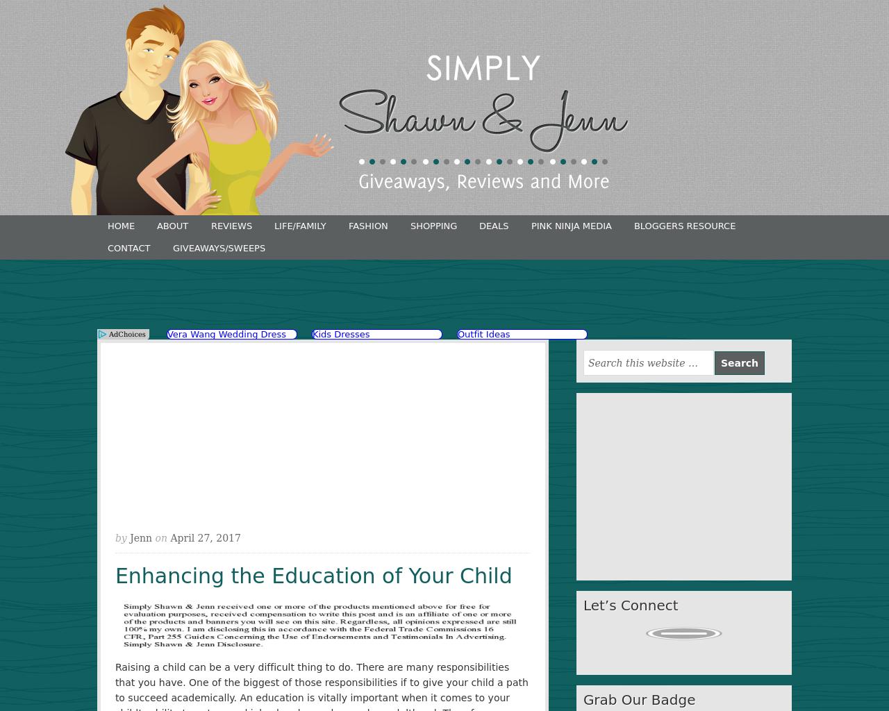 Simply-Shawn-&-Jenn-Advertising-Reviews-Pricing