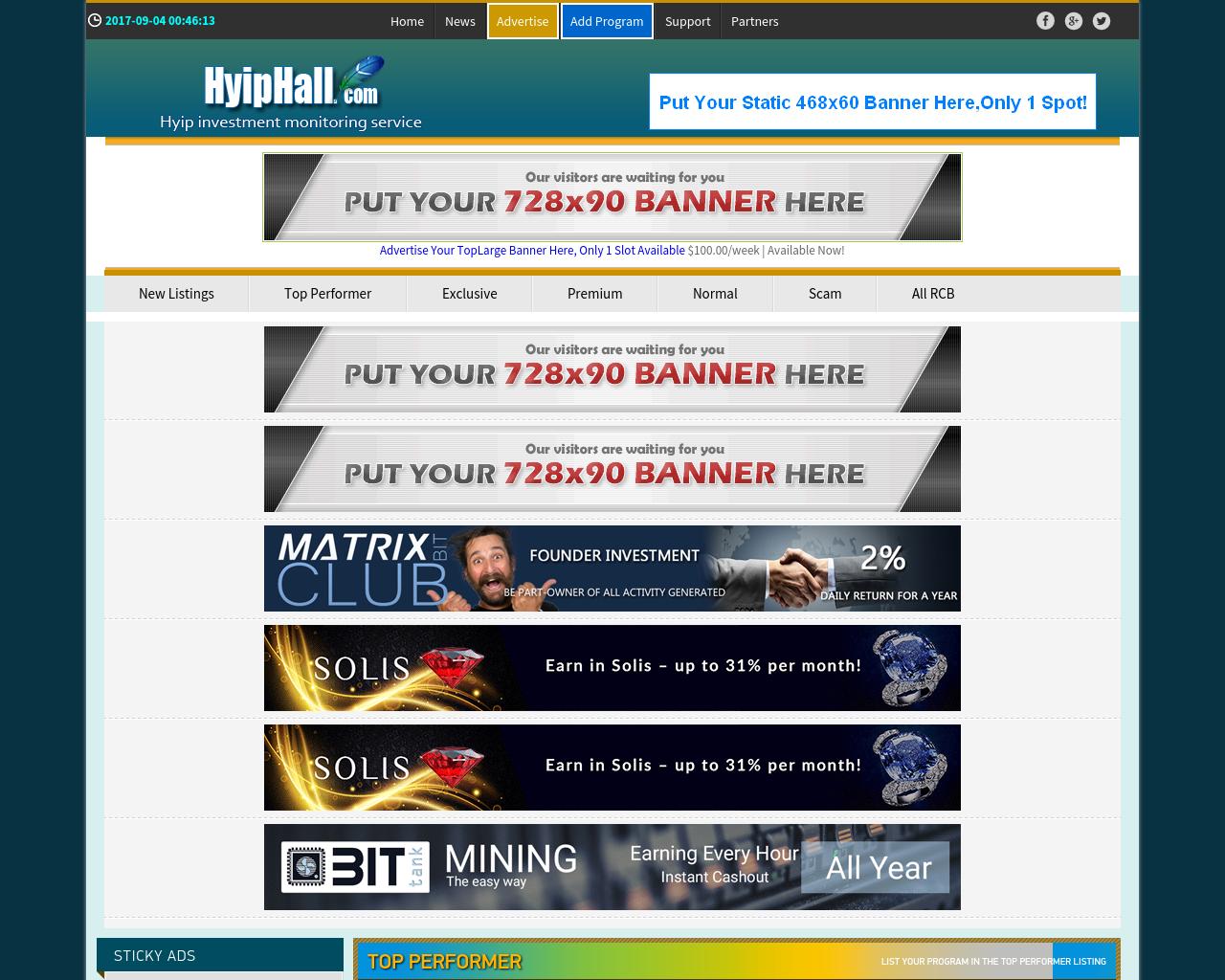 HyipHall.com-Advertising-Reviews-Pricing