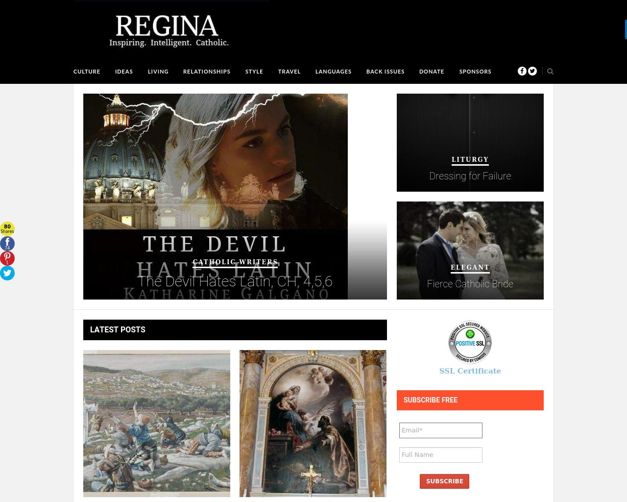 Regina-Magazine-Advertising-Reviews-Pricing