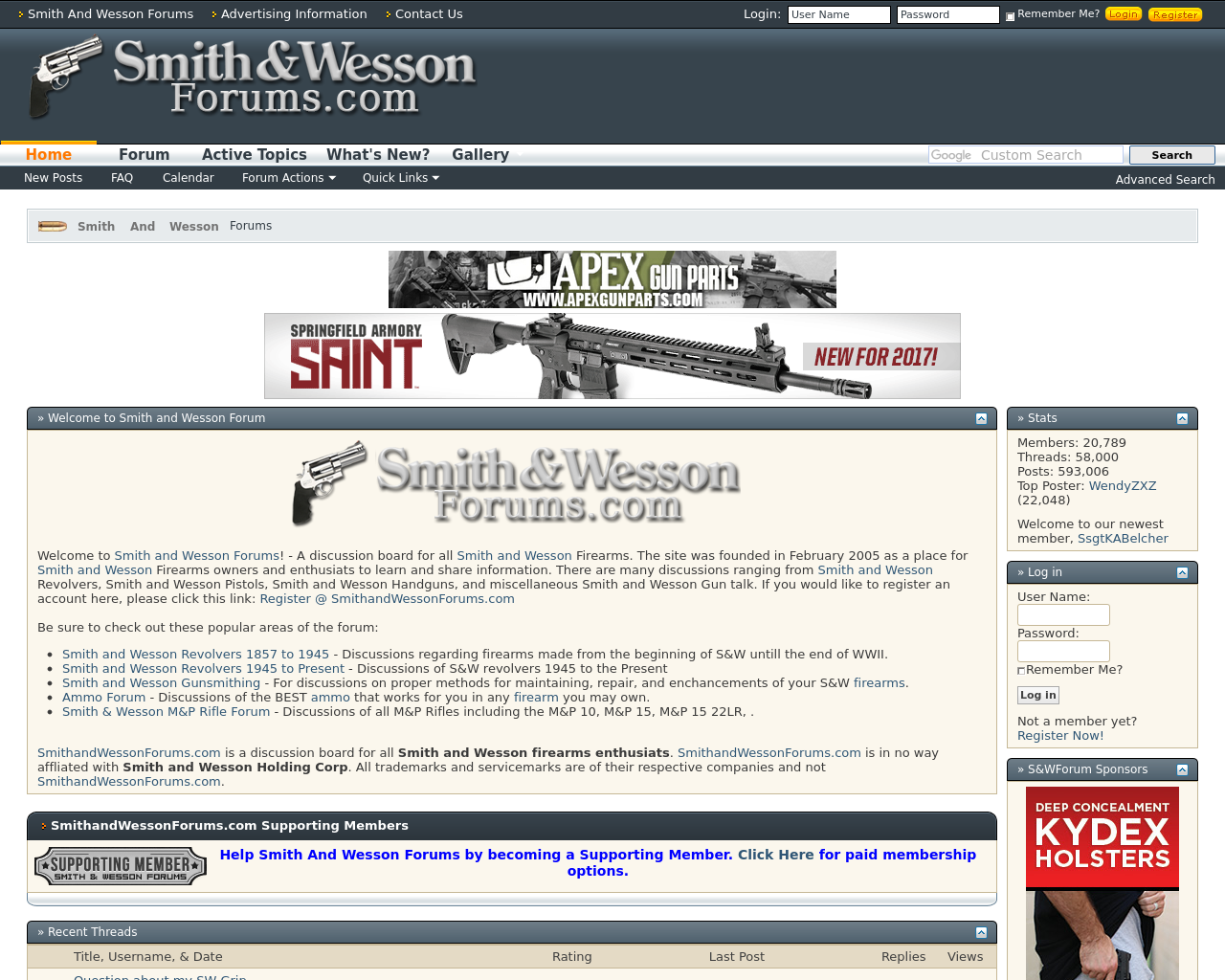 Smith-And-Wesson-Forums-Advertising-Reviews-Pricing