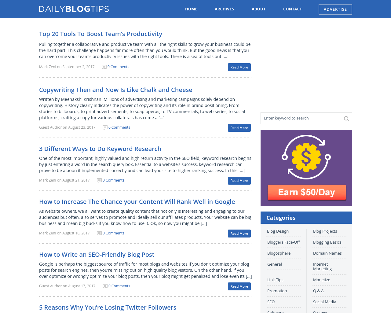 Daily-Blog-Tips-Advertising-Reviews-Pricing