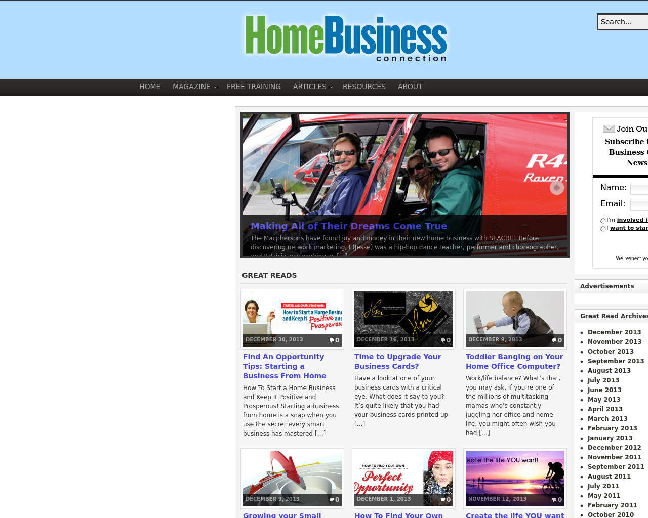 Home-Business-Connection-Advertising-Reviews-Pricing