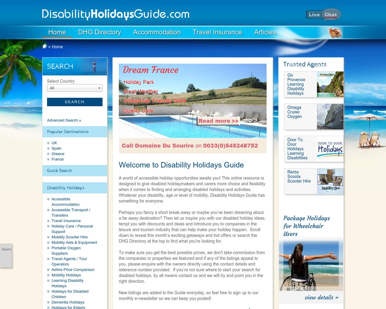 DisabilityHolidaysGuide.com-Advertising-Reviews-Pricing