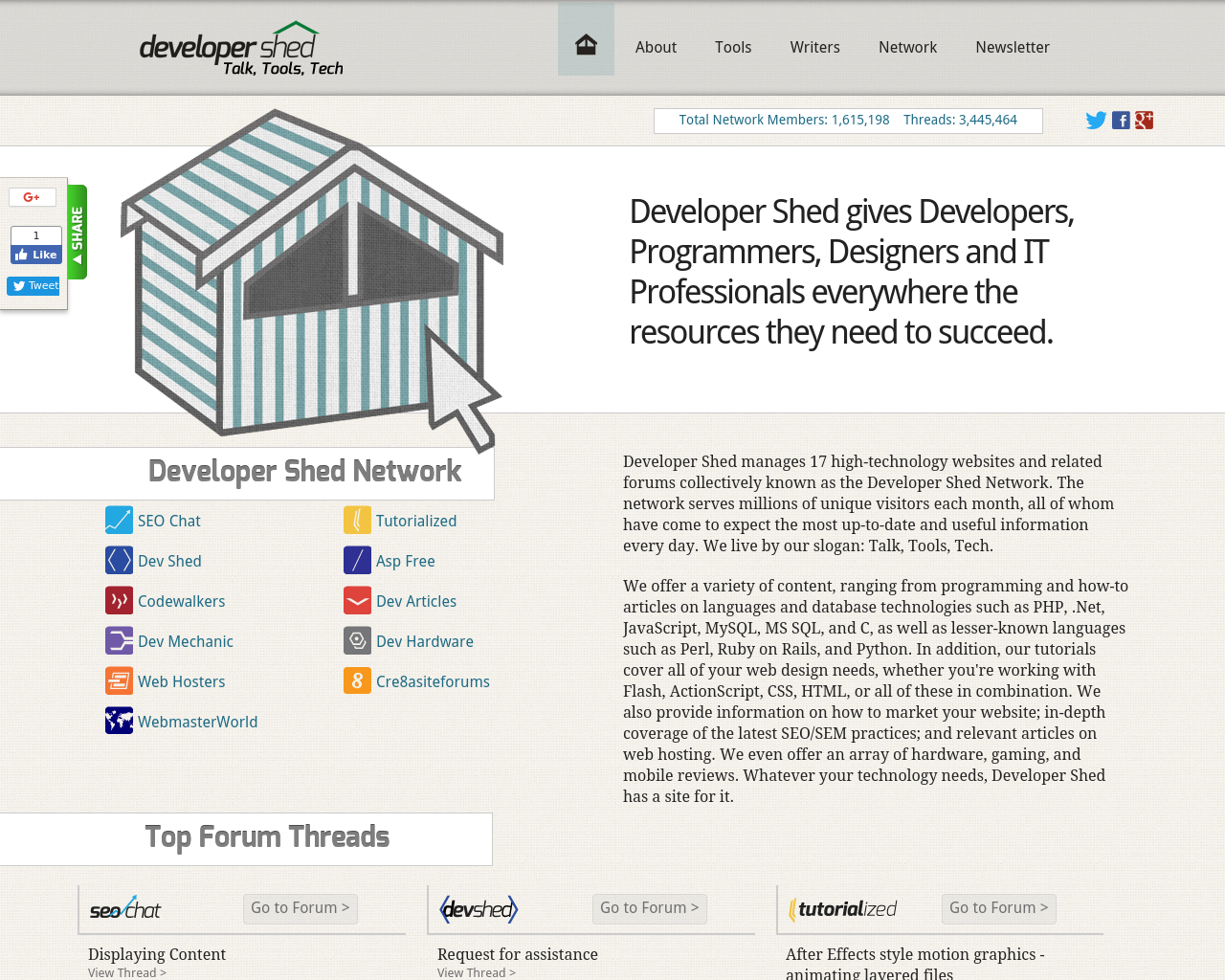 Developer-Shed-Advertising-Reviews-Pricing