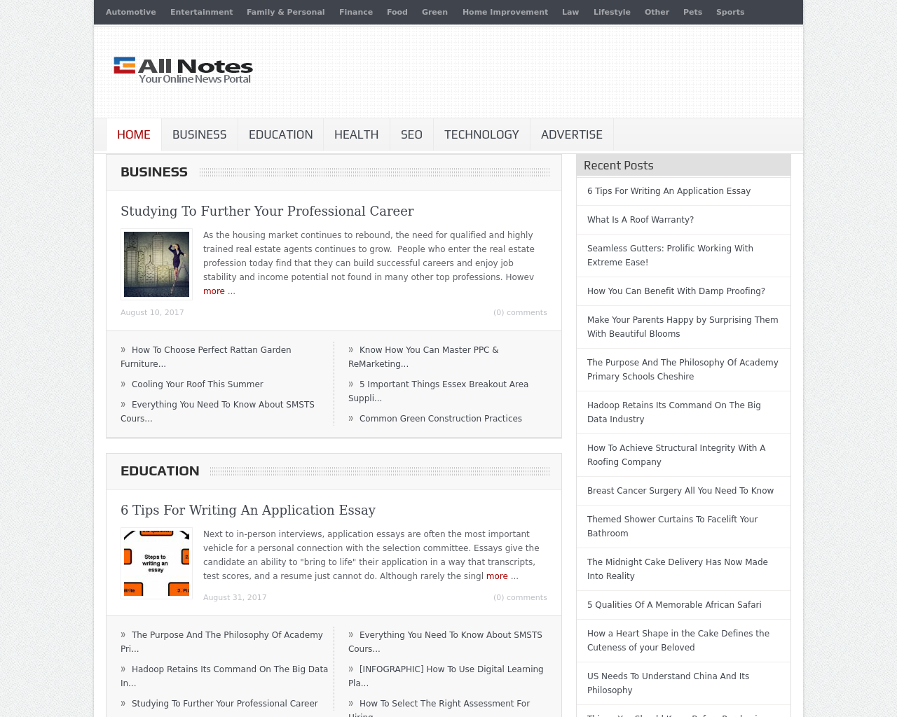 All-notes.com-Advertising-Reviews-Pricing