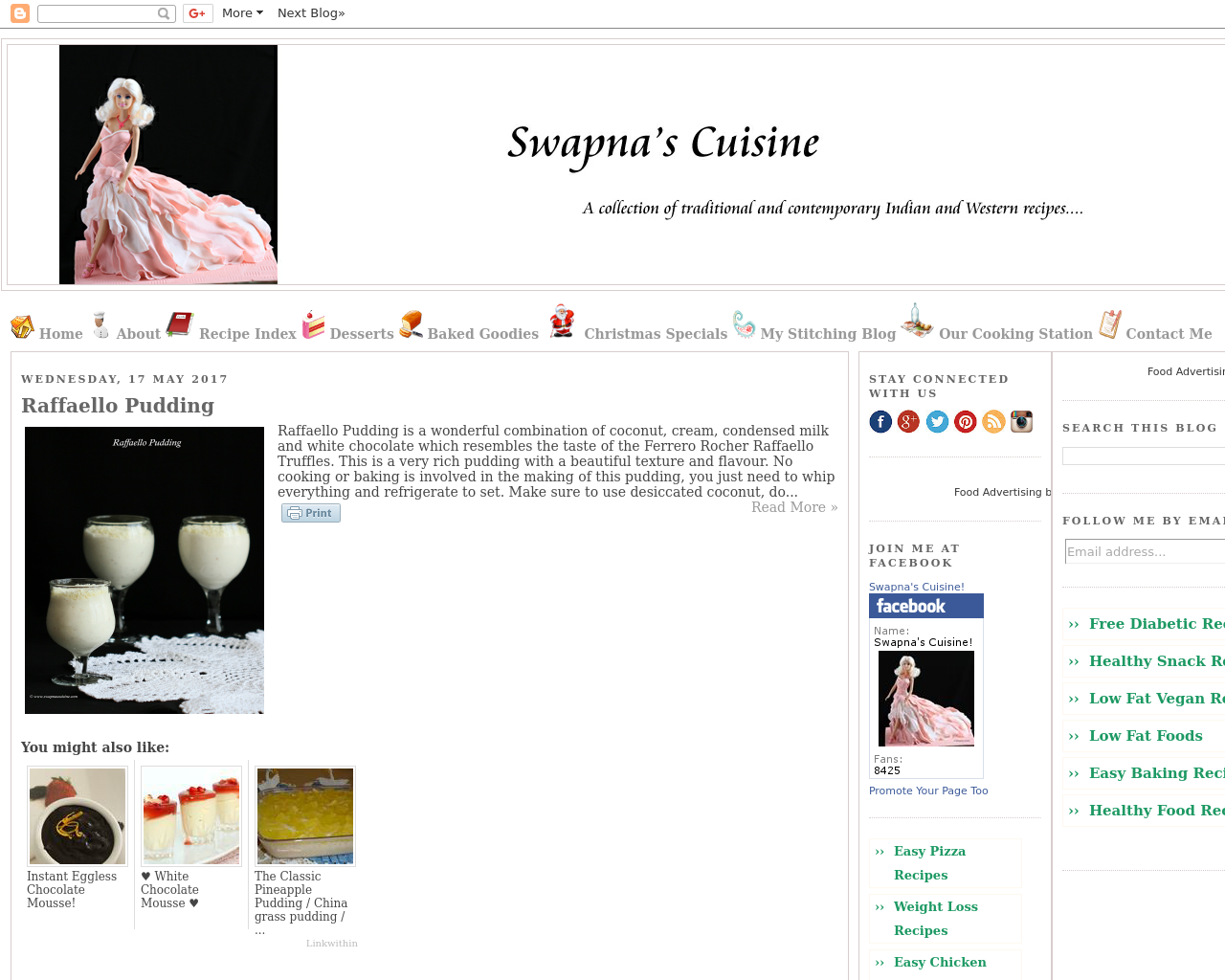 Swapna's-Cuisine-Advertising-Reviews-Pricing