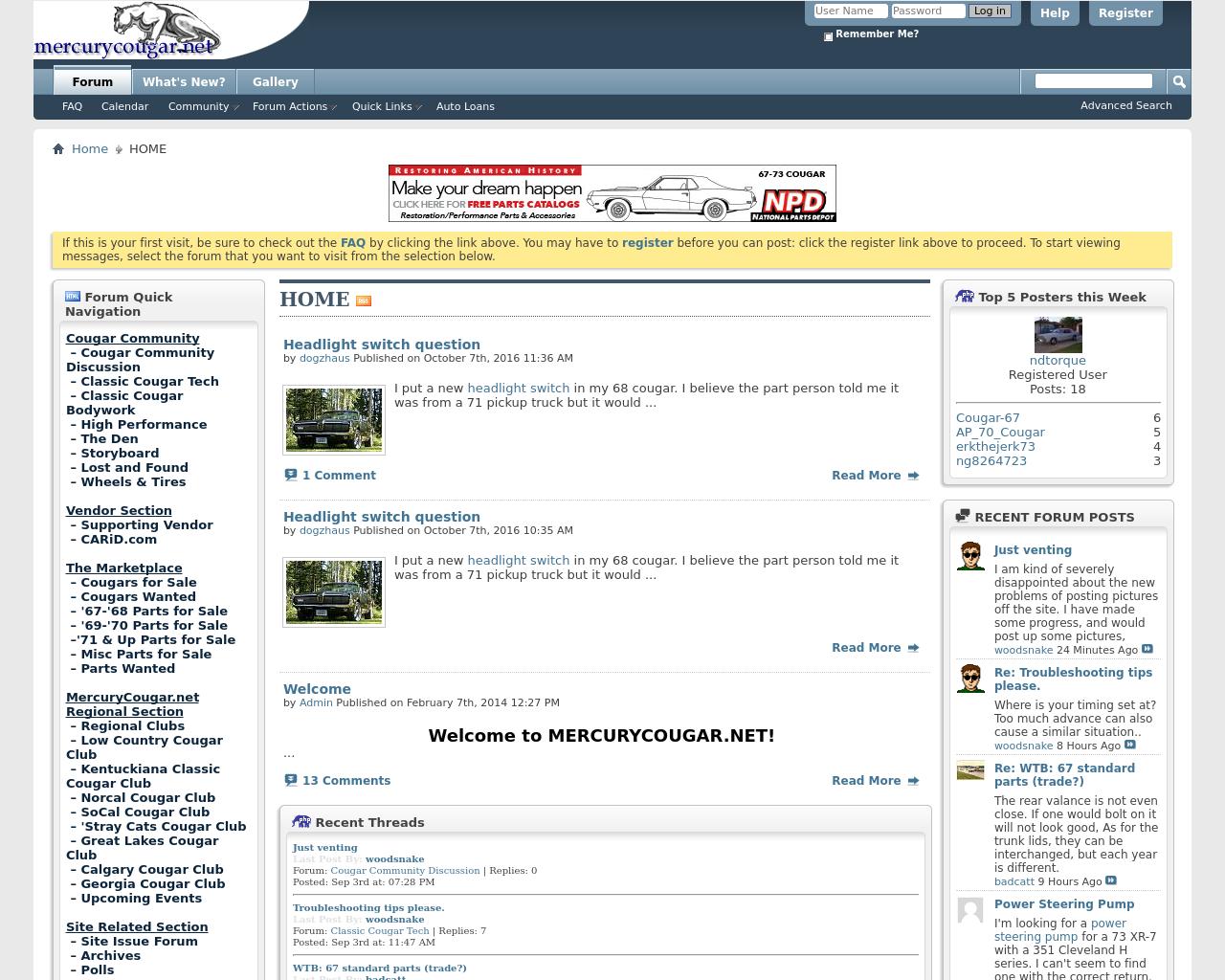 MERCURYCOUGAR.NET-Advertising-Reviews-Pricing