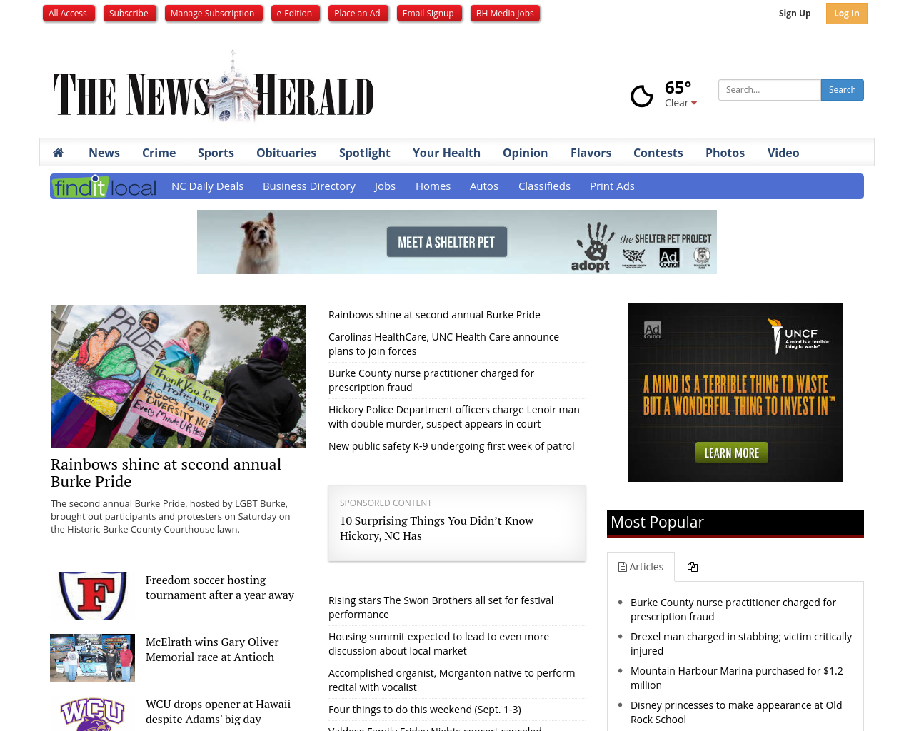 The-News-Herald-(BH-Media-Group)-Advertising-Reviews-Pricing
