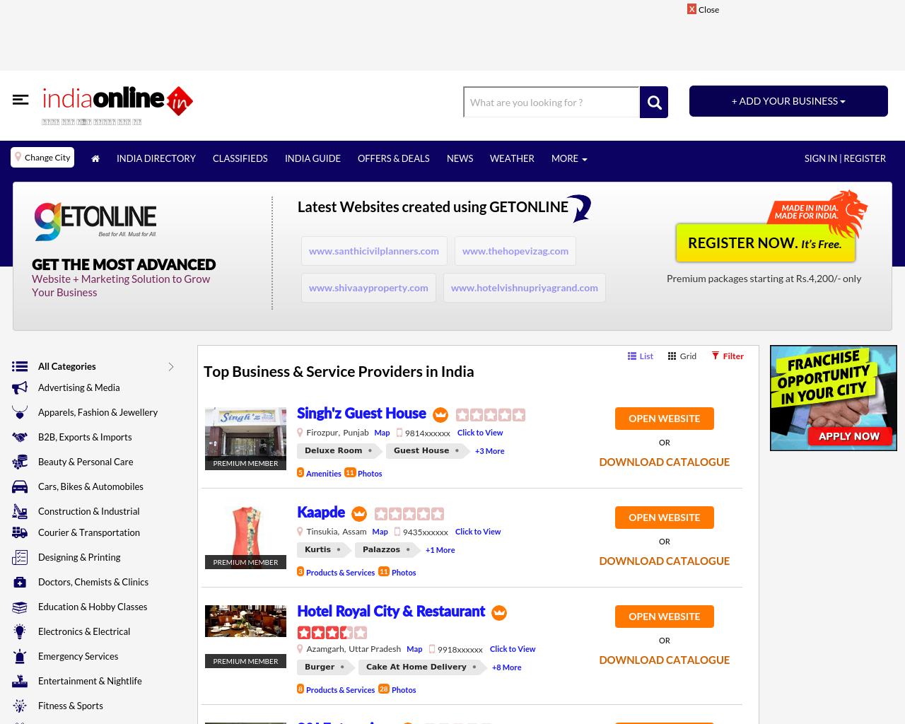 India-Online-Advertising-Reviews-Pricing