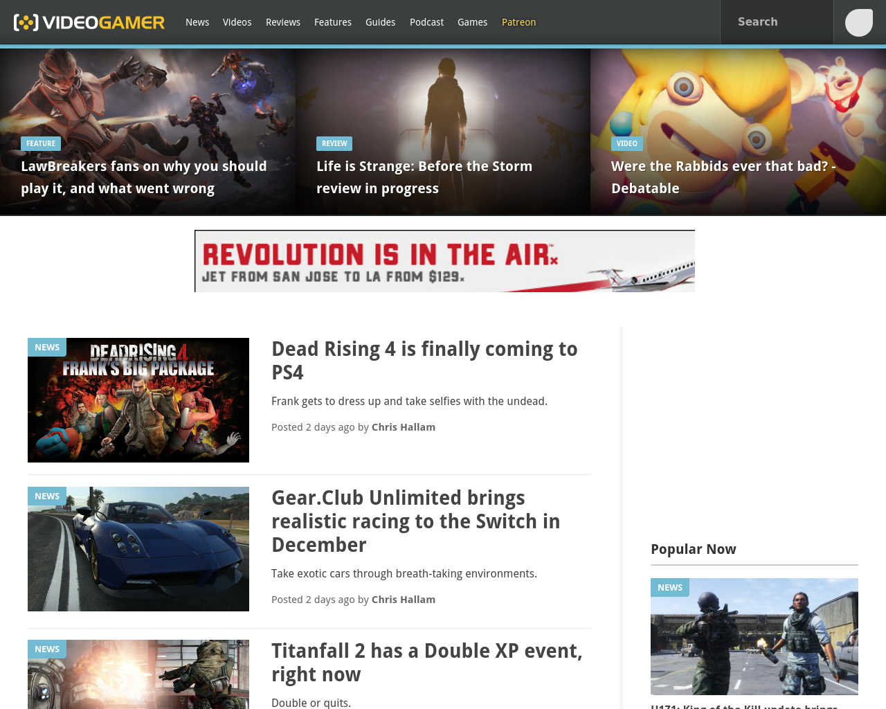 Videogamer.com-Advertising-Reviews-Pricing