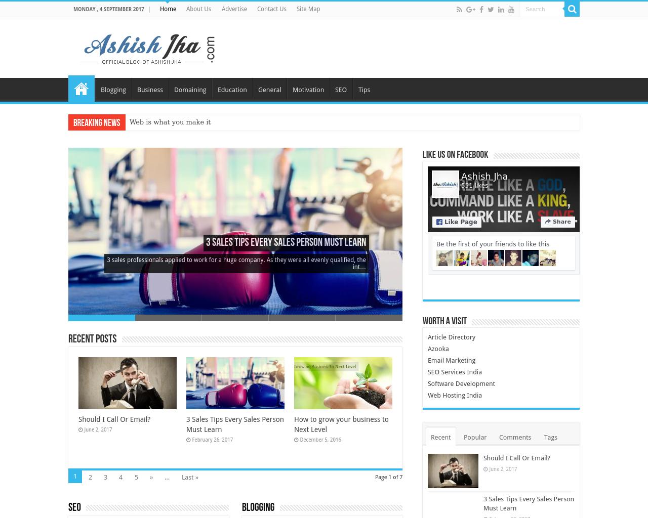 Theashish.com-Advertising-Reviews-Pricing