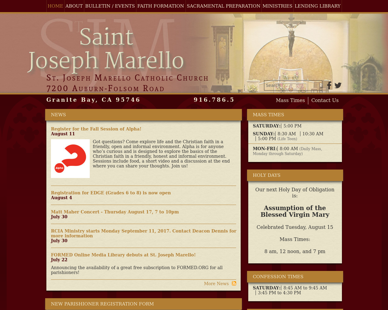 St.-Joseph-Marello-Parish-Advertising-Reviews-Pricing