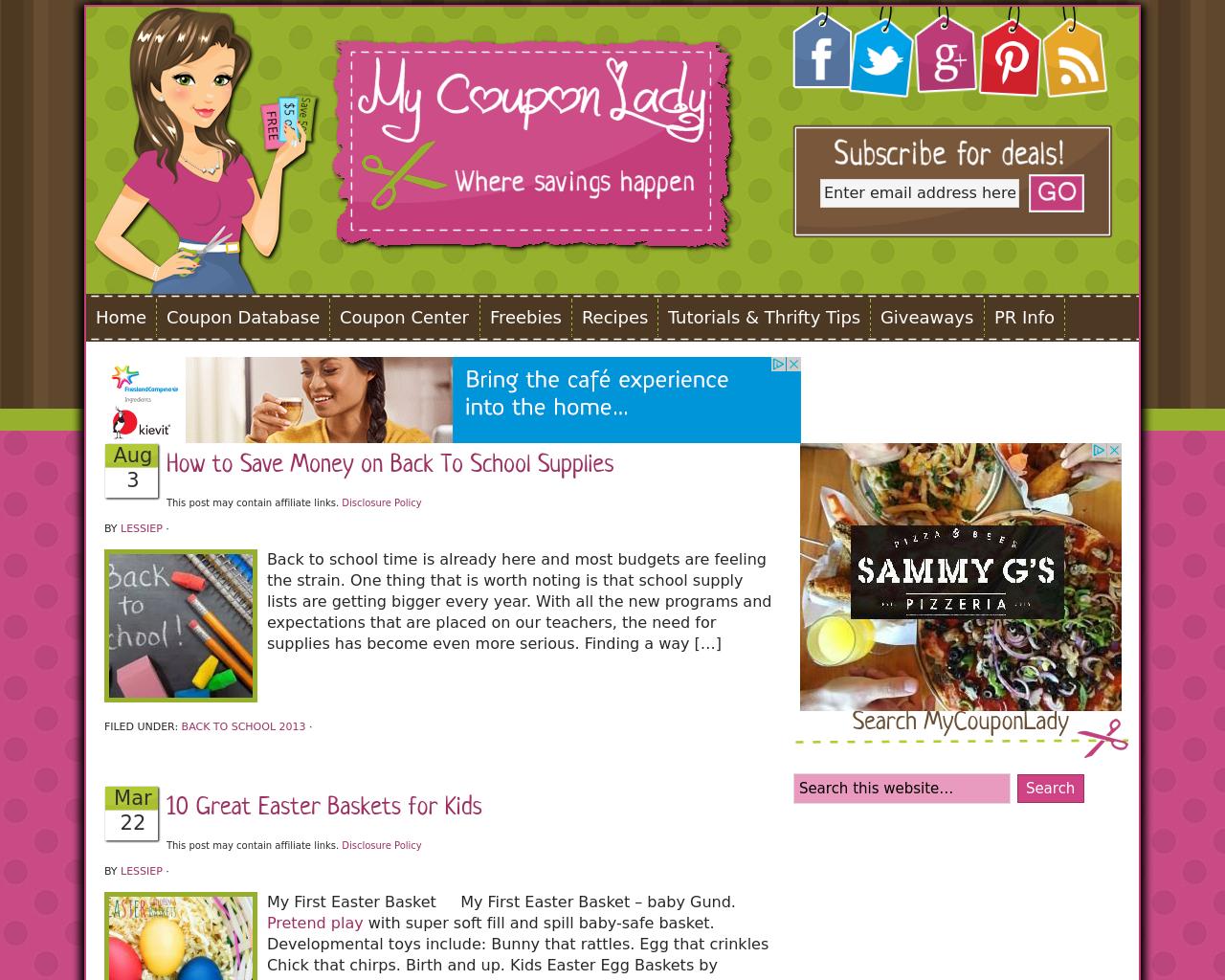 MyCouponLady.com-Advertising-Reviews-Pricing
