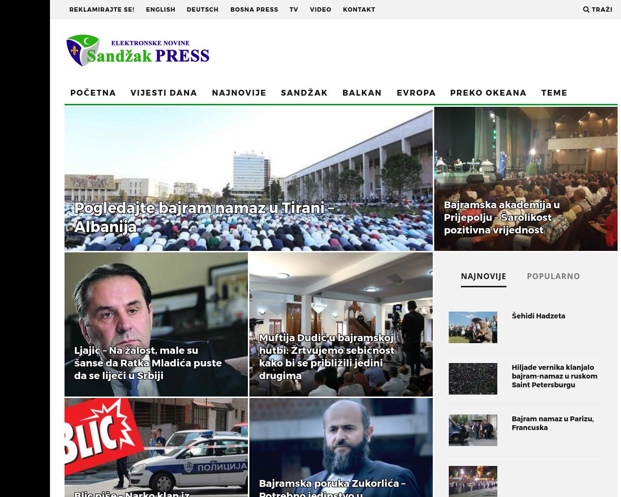 Sandzak-Press-Advertising-Reviews-Pricing