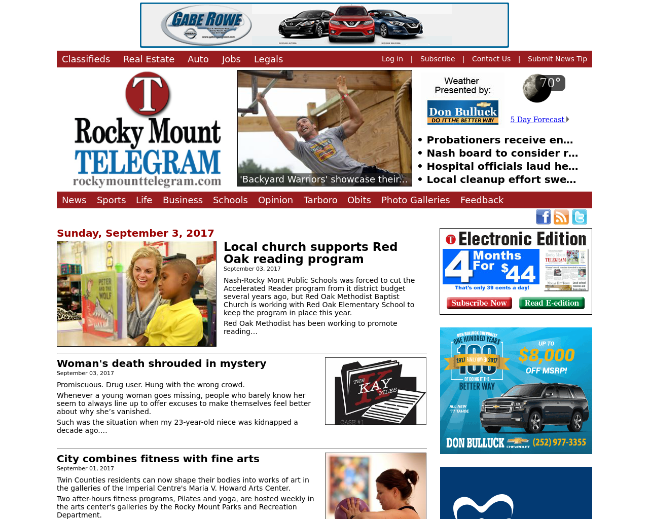 The-Rocky-Mount-Telegram-Advertising-Reviews-Pricing