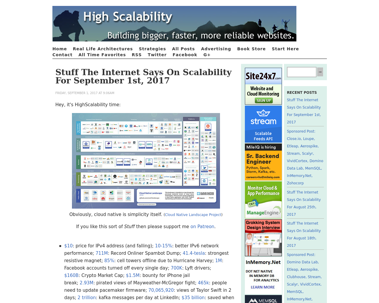 High-Scalability-Advertising-Reviews-Pricing