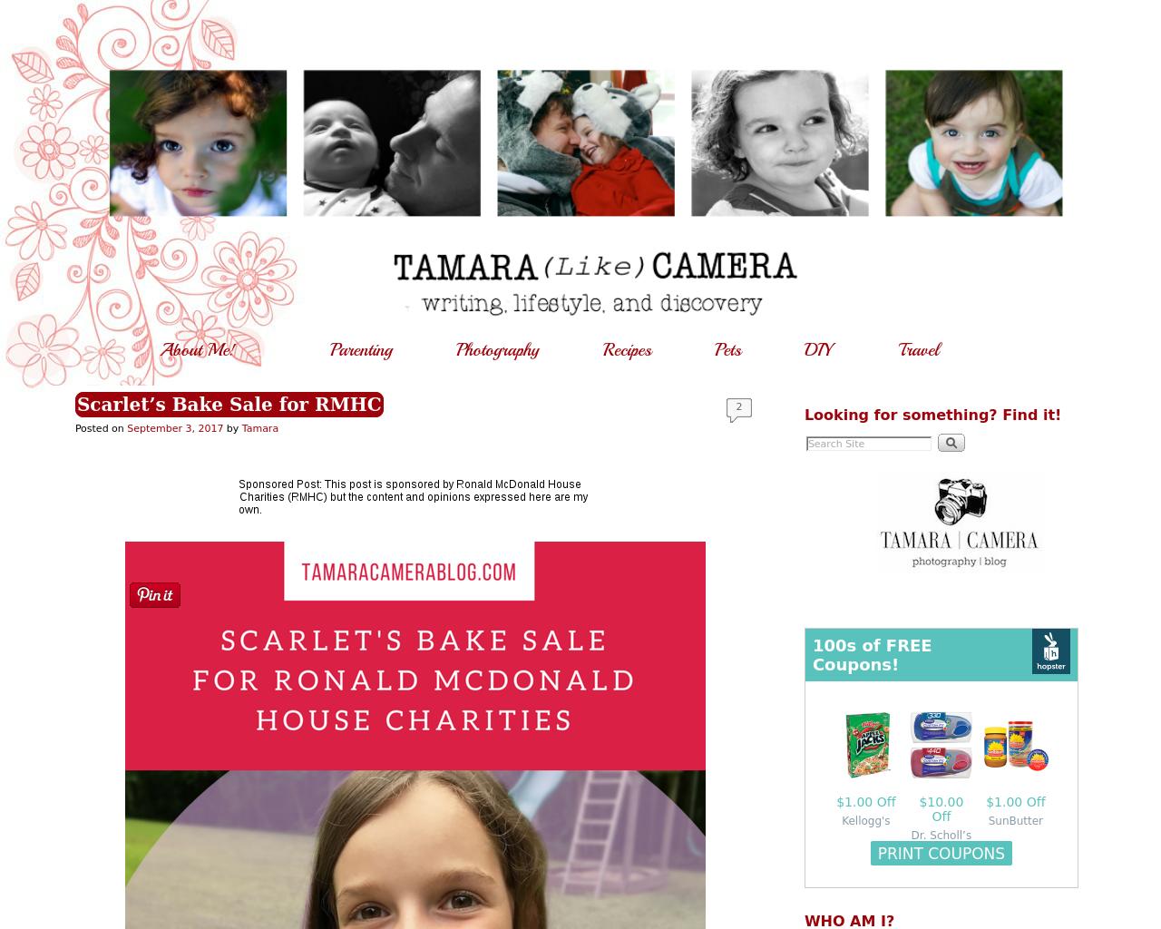 Tamara-Camera-Blog-Advertising-Reviews-Pricing