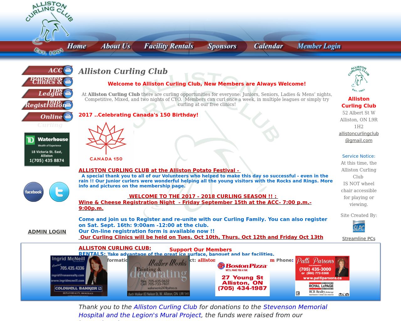 Alliston-Curling-Club-Advertising-Reviews-Pricing