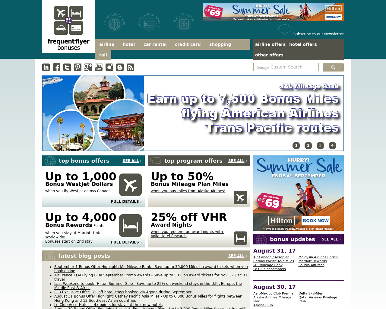 Frequent-Flyer-Bonuses-Advertising-Reviews-Pricing