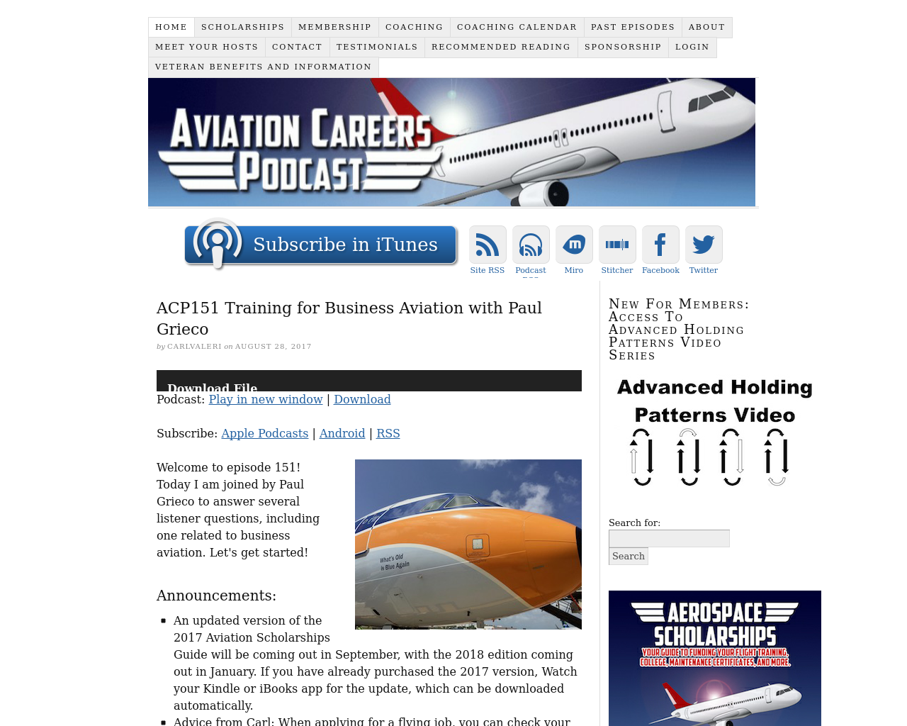 Aviation-Careers-Podcast-Advertising-Reviews-Pricing