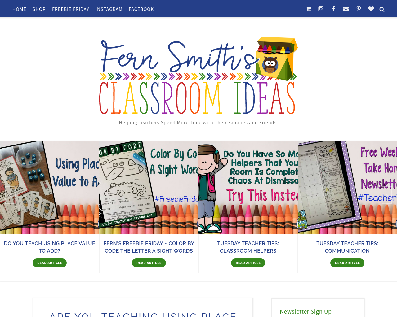 Fern-Smith's-Classroom-Ideas-Advertising-Reviews-Pricing