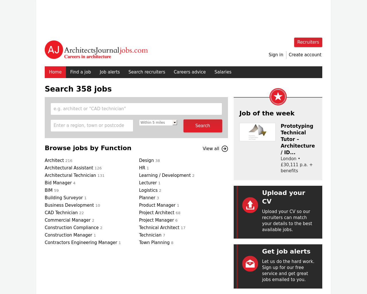 Architects-Journal-Jobs-Advertising-Reviews-Pricing