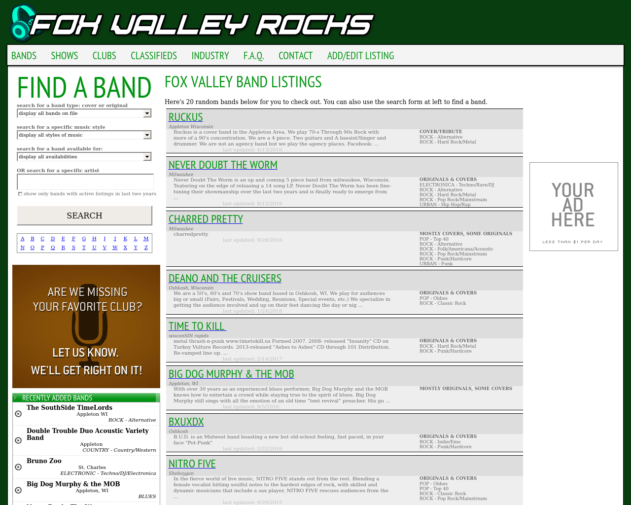 Fox-Valley-Rocks-Advertising-Reviews-Pricing