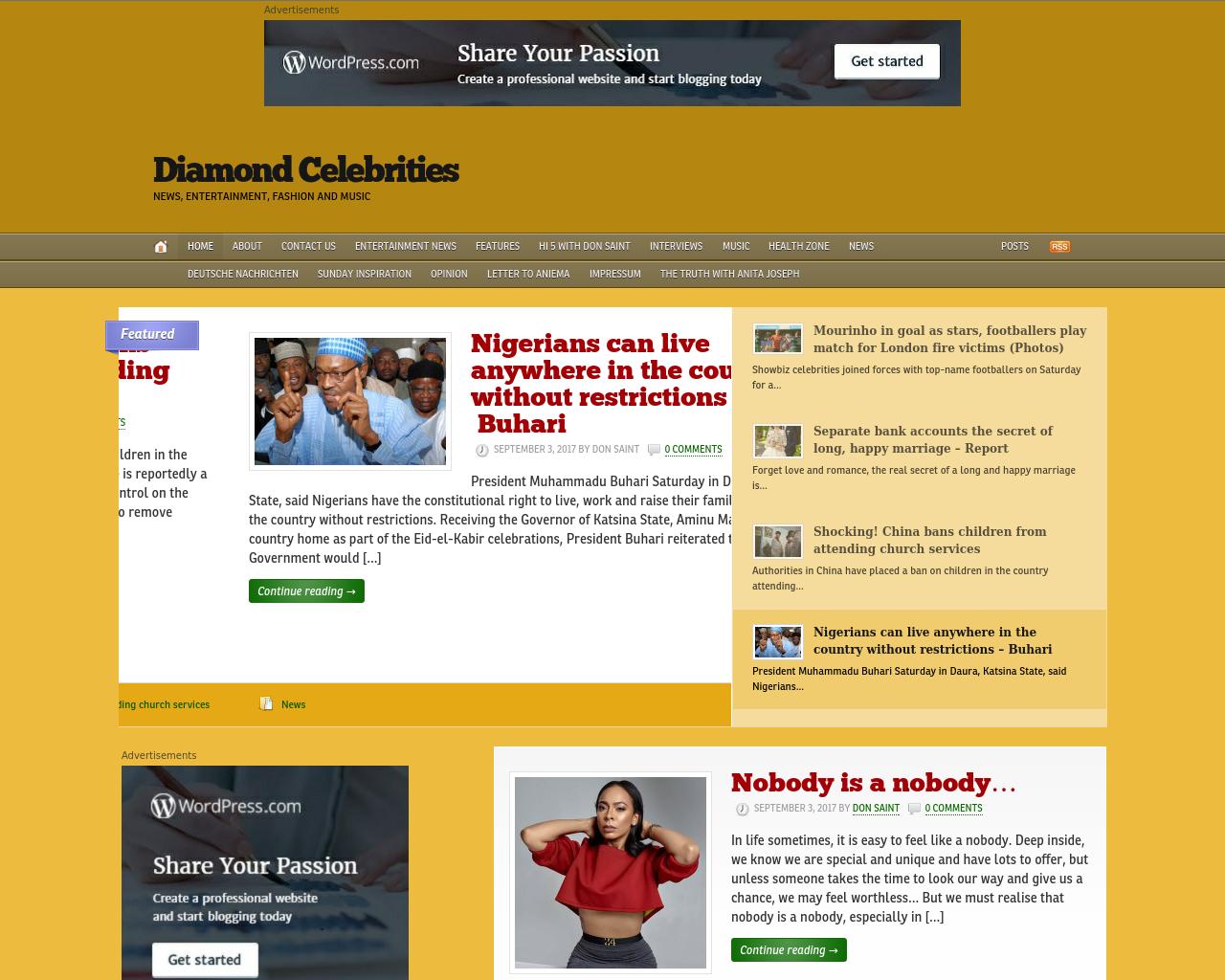 Diamond-Celebrities-Advertising-Reviews-Pricing