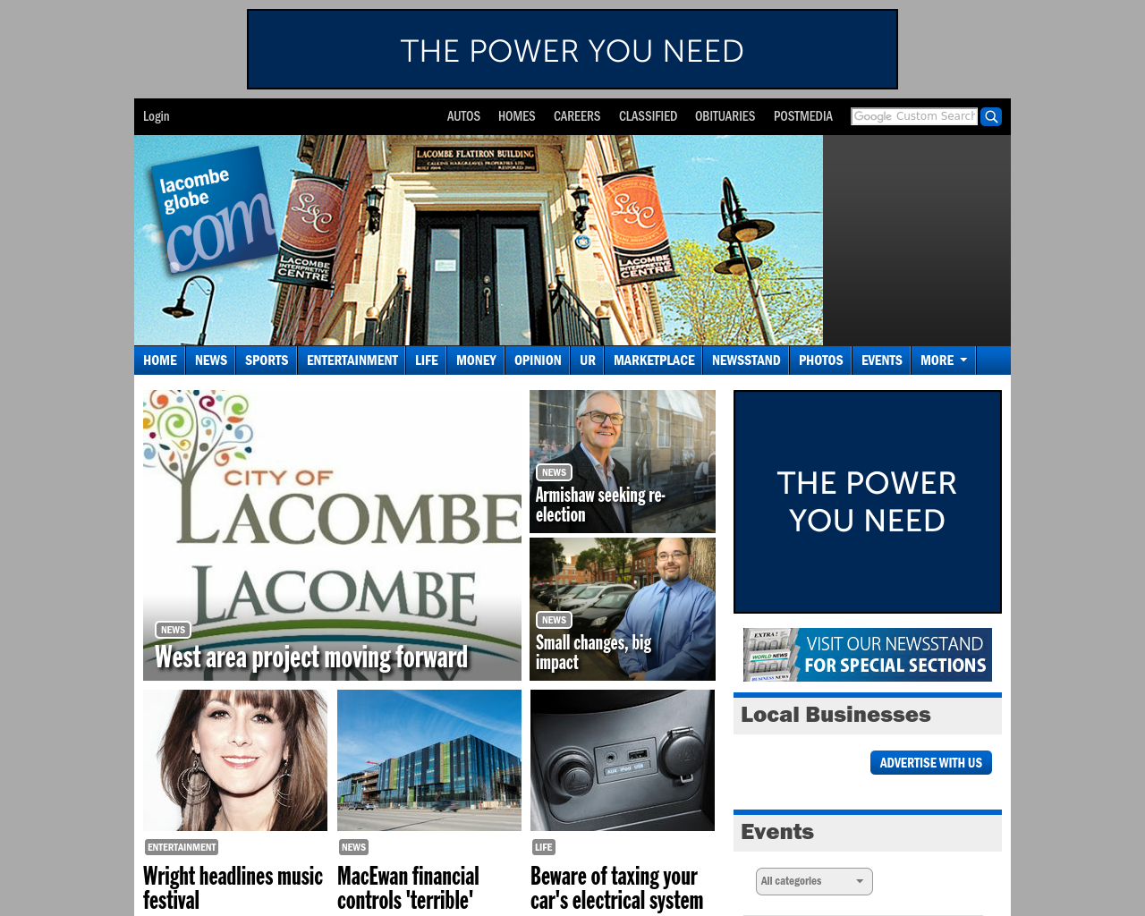 Lacombe-Globe-Advertising-Reviews-Pricing