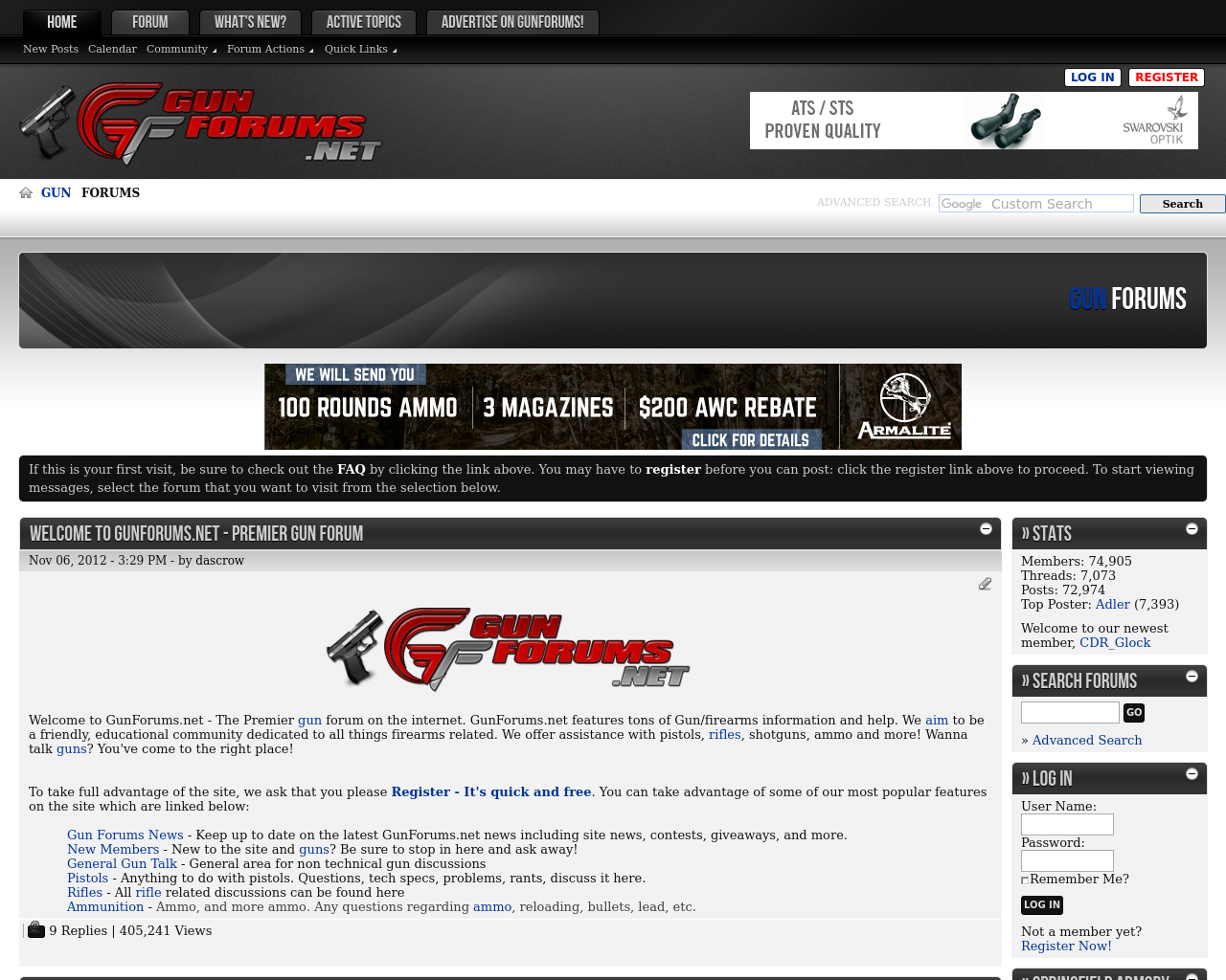 Gun-Forums-Advertising-Reviews-Pricing