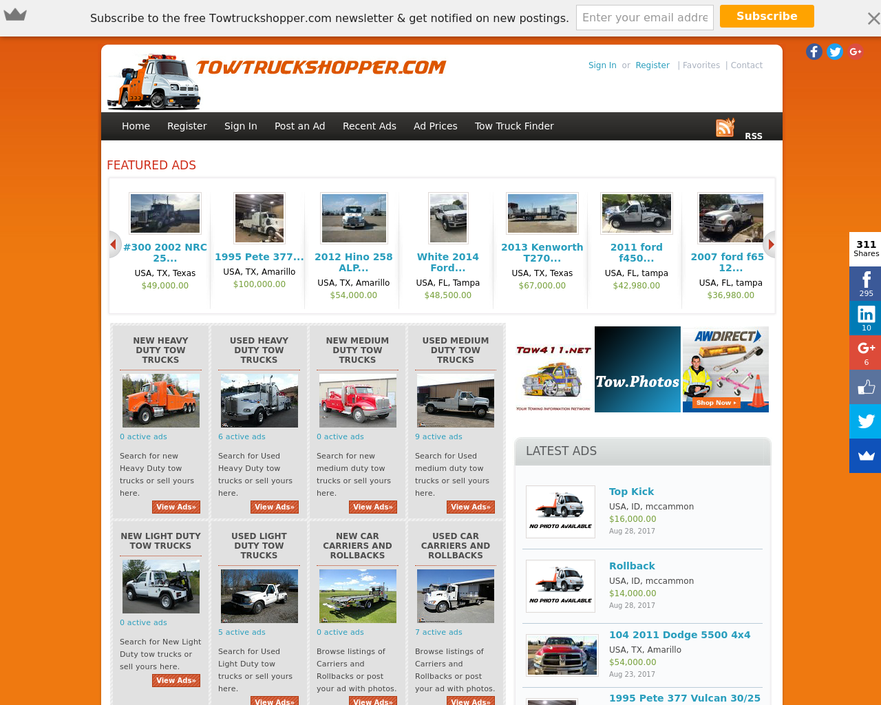 Towtruckshopper.com-Advertising-Reviews-Pricing