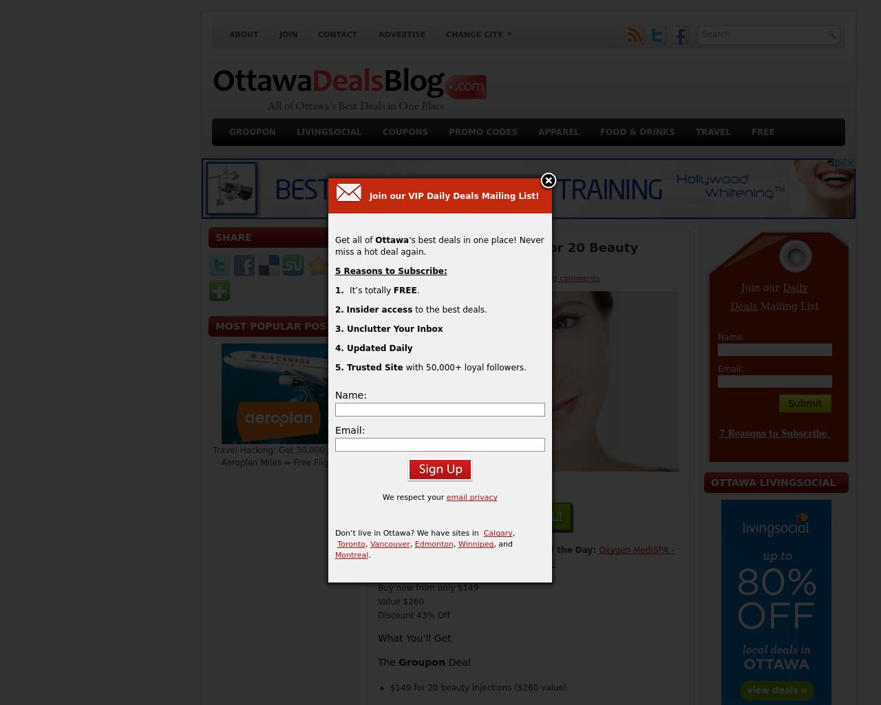 Ottawa-Deals-Blog-Advertising-Reviews-Pricing