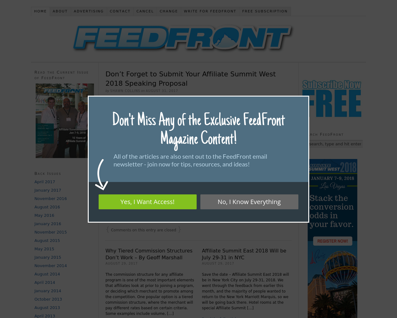 FeedFront-Magazine-Advertising-Reviews-Pricing